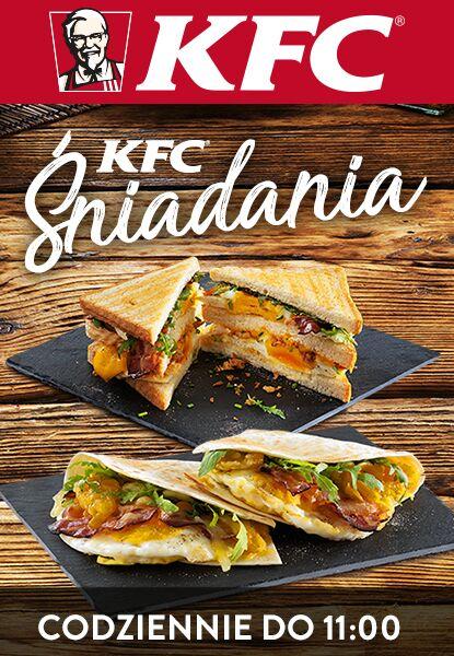 Oferta śniadaniowa w KFC – codziennie do 11:00!