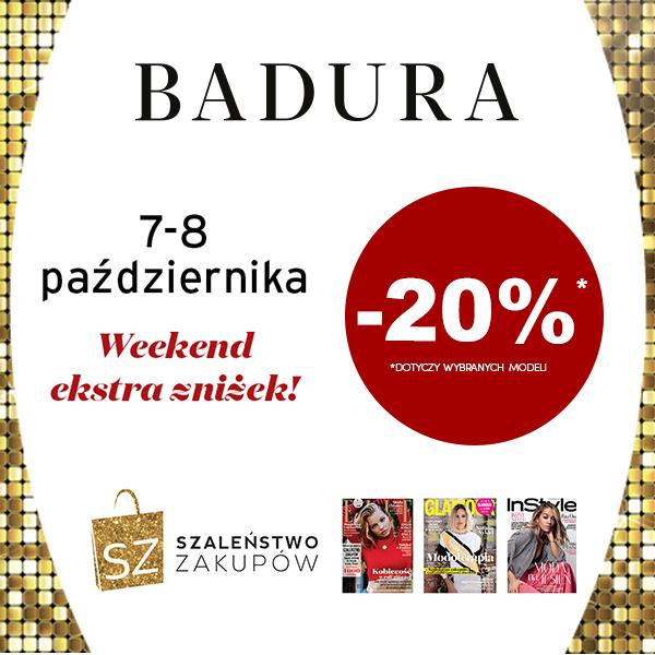 20% RABATU w Badura!