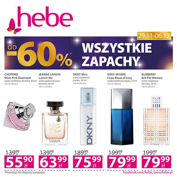 Wszystkie zapachy d0 -60%*
