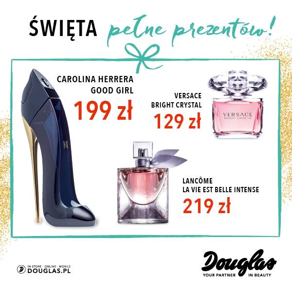 Spełnij świąteczne marzenia w perfumeriach Douglas!