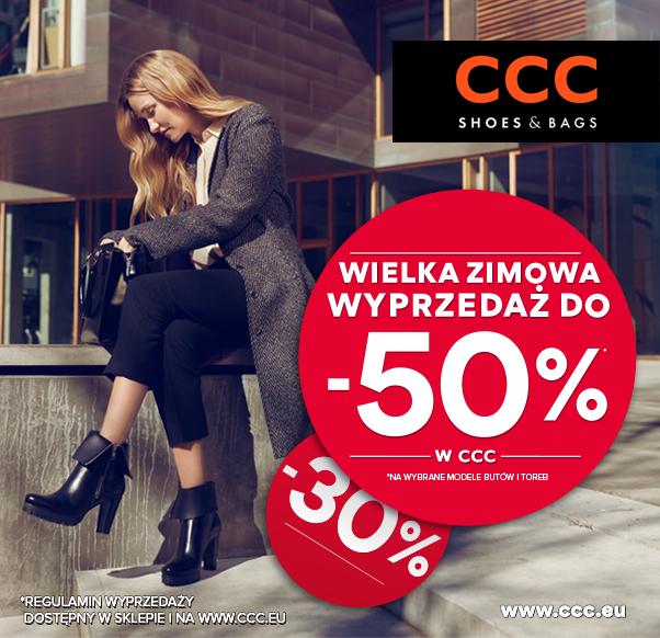 Wielka Zimowa wyprzedaż do -50% w CCC!