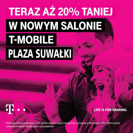 T-Mobile od wtorku w Plazie