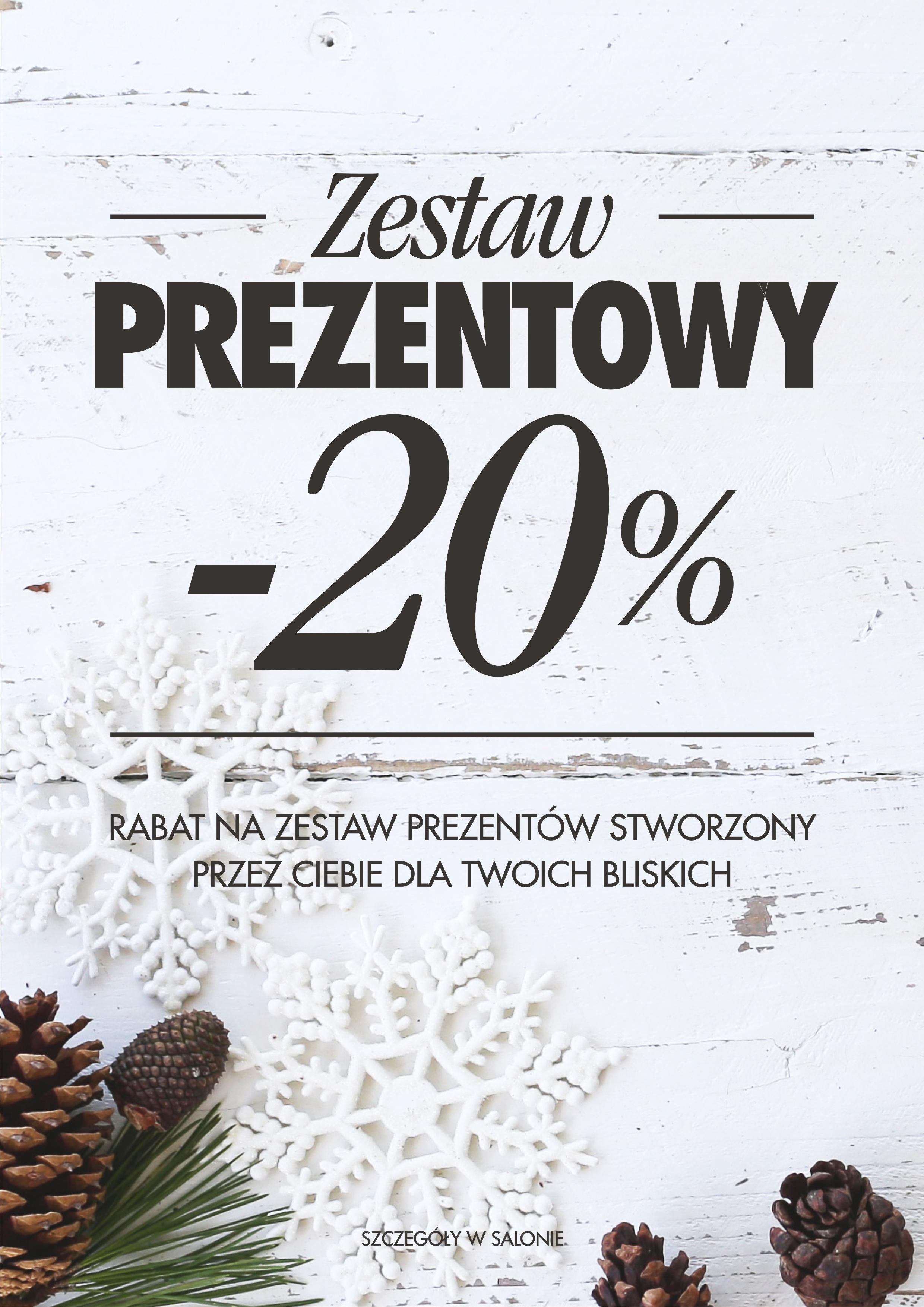 Świąteczna promocja: -20% na zestaw prezentowy stworzony dla Twoich bliskich!