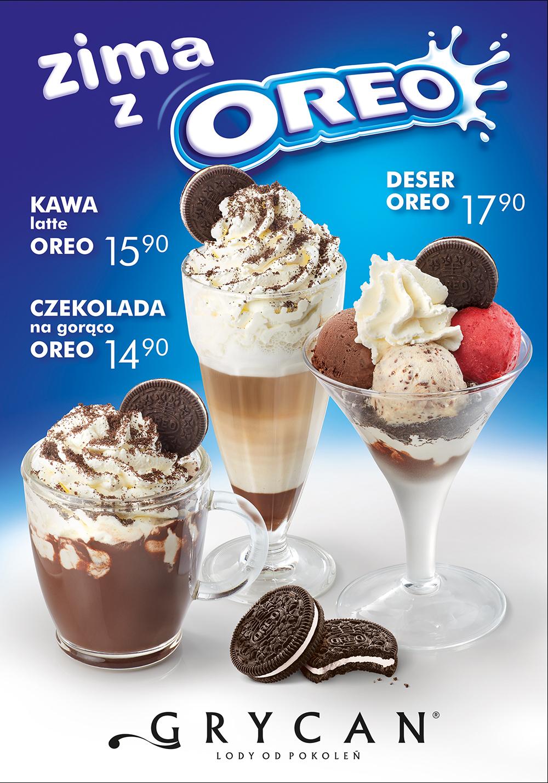 Najnowsza oferta lodziarnio-kawiarni GRYCAN LODY OD POKOLEŃ.