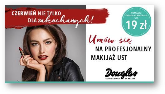 Perfumerie Douglas zapraszają na  profesjonalny makijaż ust!