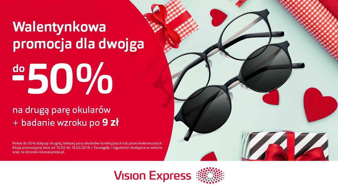 Promocja Walentynkowa w Vision Express