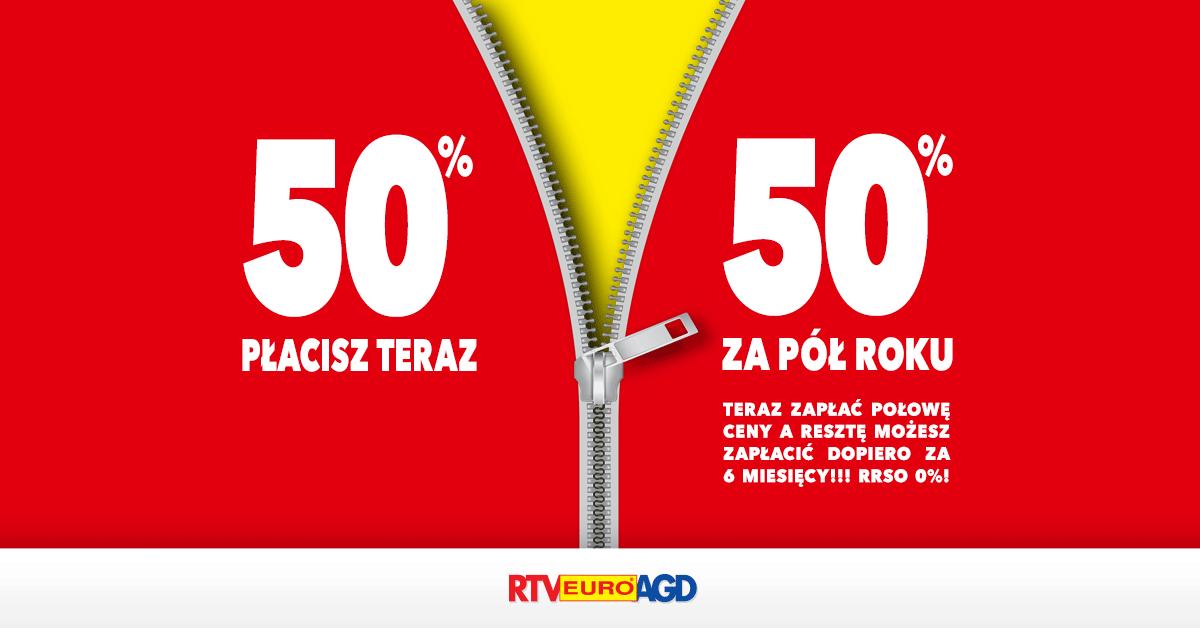 W sklepach RTV EURO AGD ruszyła nowa promocja ratalna