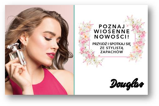 Poznaj wiosenne nowości i premiery zapachowe dostępne wyłącznie w Douglas!