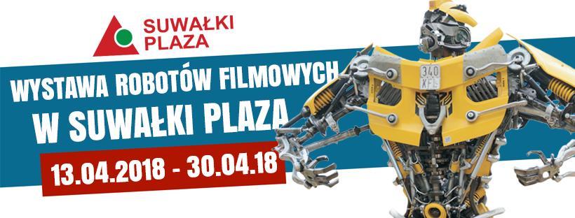 Wystawa robotów w Suwałki Plaza