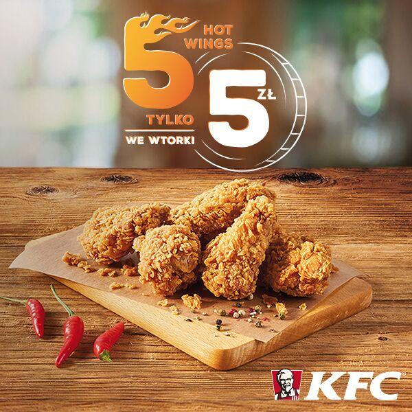 Rusza nowa promocja KFC – 5 za 5.