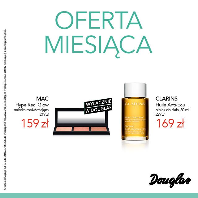 Oferta miesiąca w perfumeriach Douglas