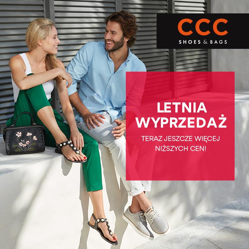 Letnia wyprzedaż w sklepie CCC. Teraz jeszcze taniej, jeszcze więcej niższych cen!