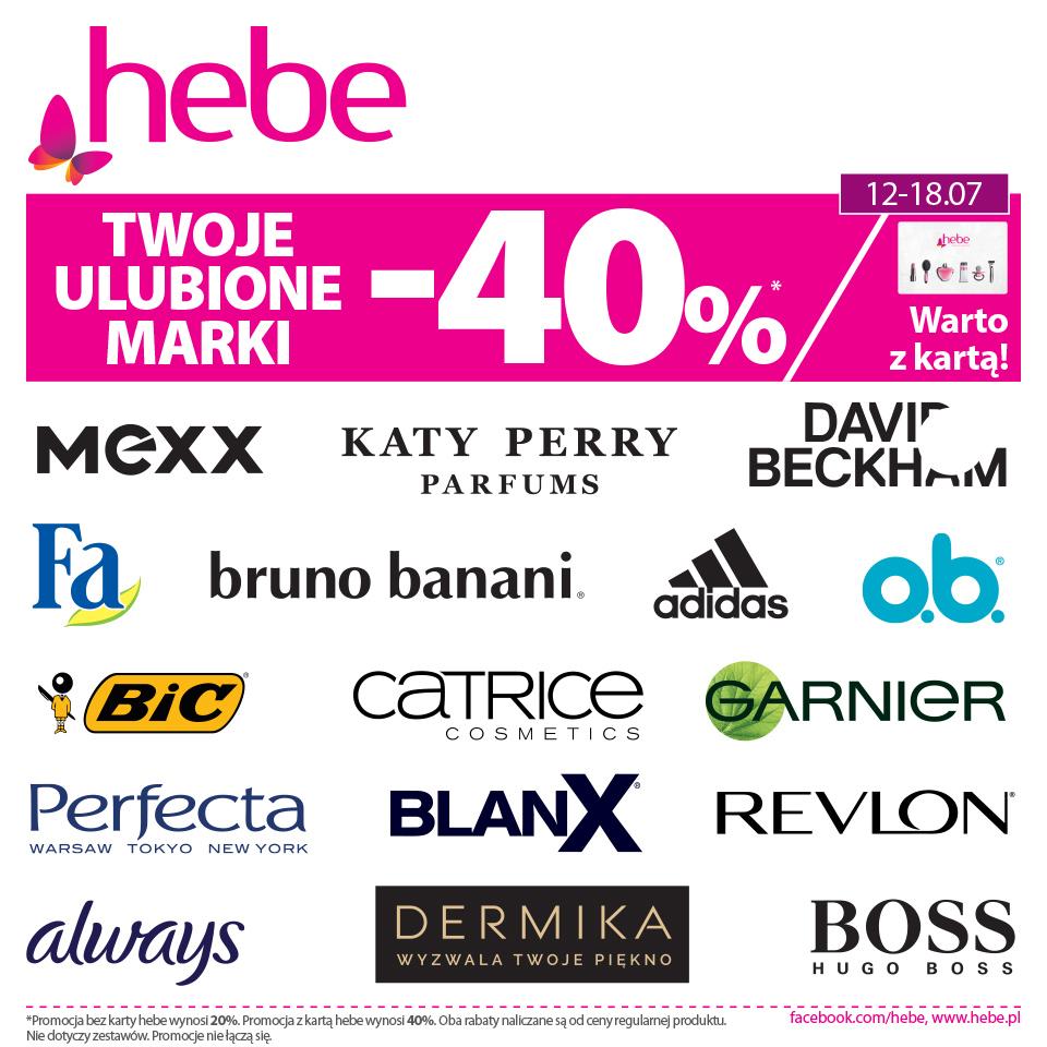 Jest wiele powodów, dla których warto posiadać kartę Hebe, a jednym z nich jest aktualna promocja 😉
