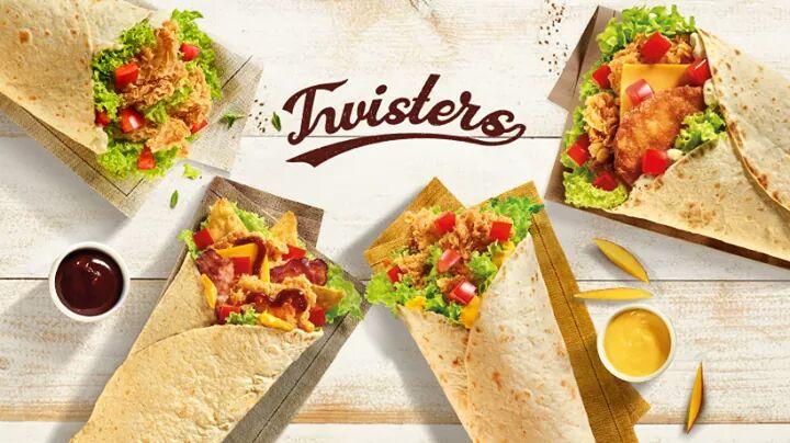 KFC Twisters za jedyne 9,95 zł 🌯