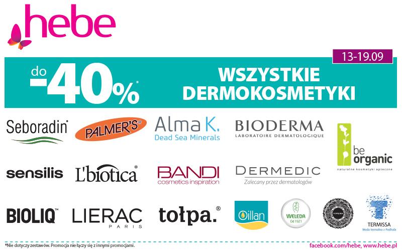 Wszystkie Dermokosmetyki do -40%*