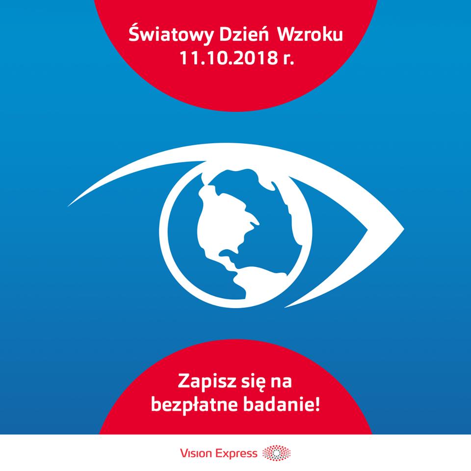 W salonach Vision Express trwa Światowy Dzień Wzroku !