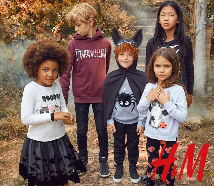 Już niebawem Halloween! W H&M na najmłodszych czekają prawdziwie upiorne przebrania!