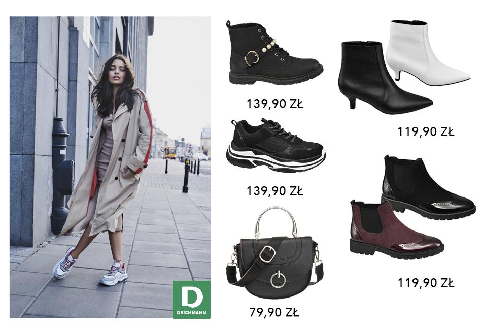 Nowy sezon w Deichmann to wiele modeli butów, które idealnie sprawdzą się w chłodniejsze dni