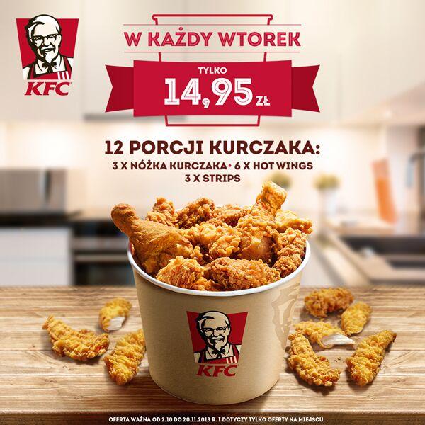 Wtorkowy Kubełek KFC!