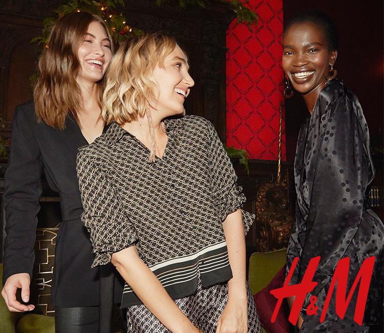 Skompletuj swój spektakularny look i przygotuj się do Świąt z H&M!