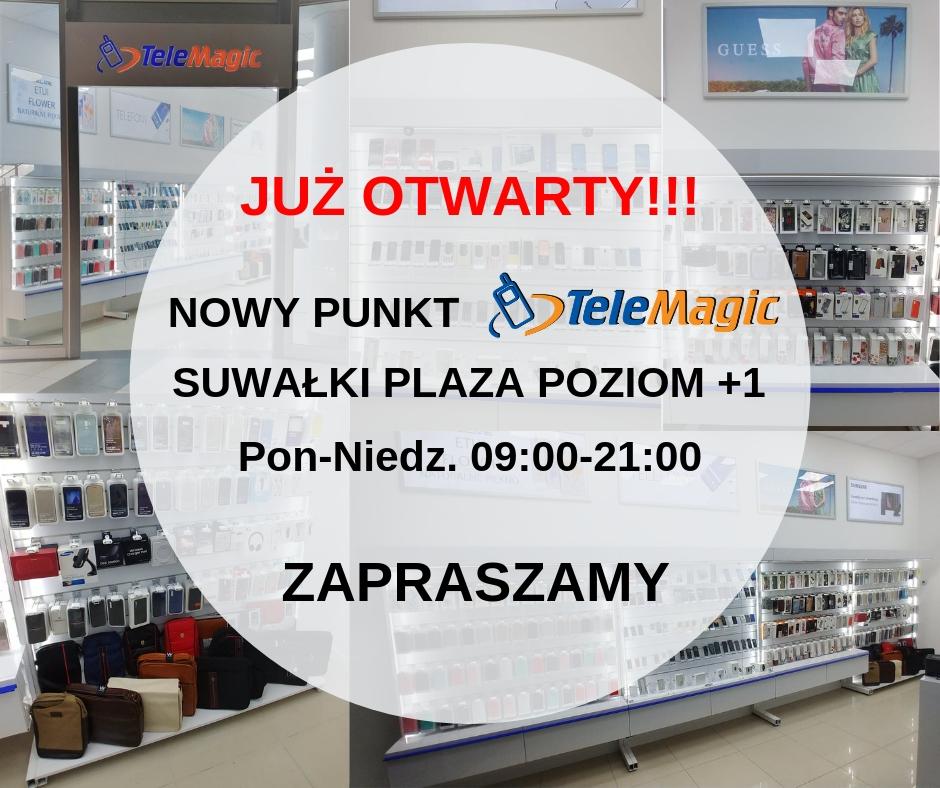 Nowy Sklep Tele Magic w Suwałki Plaza