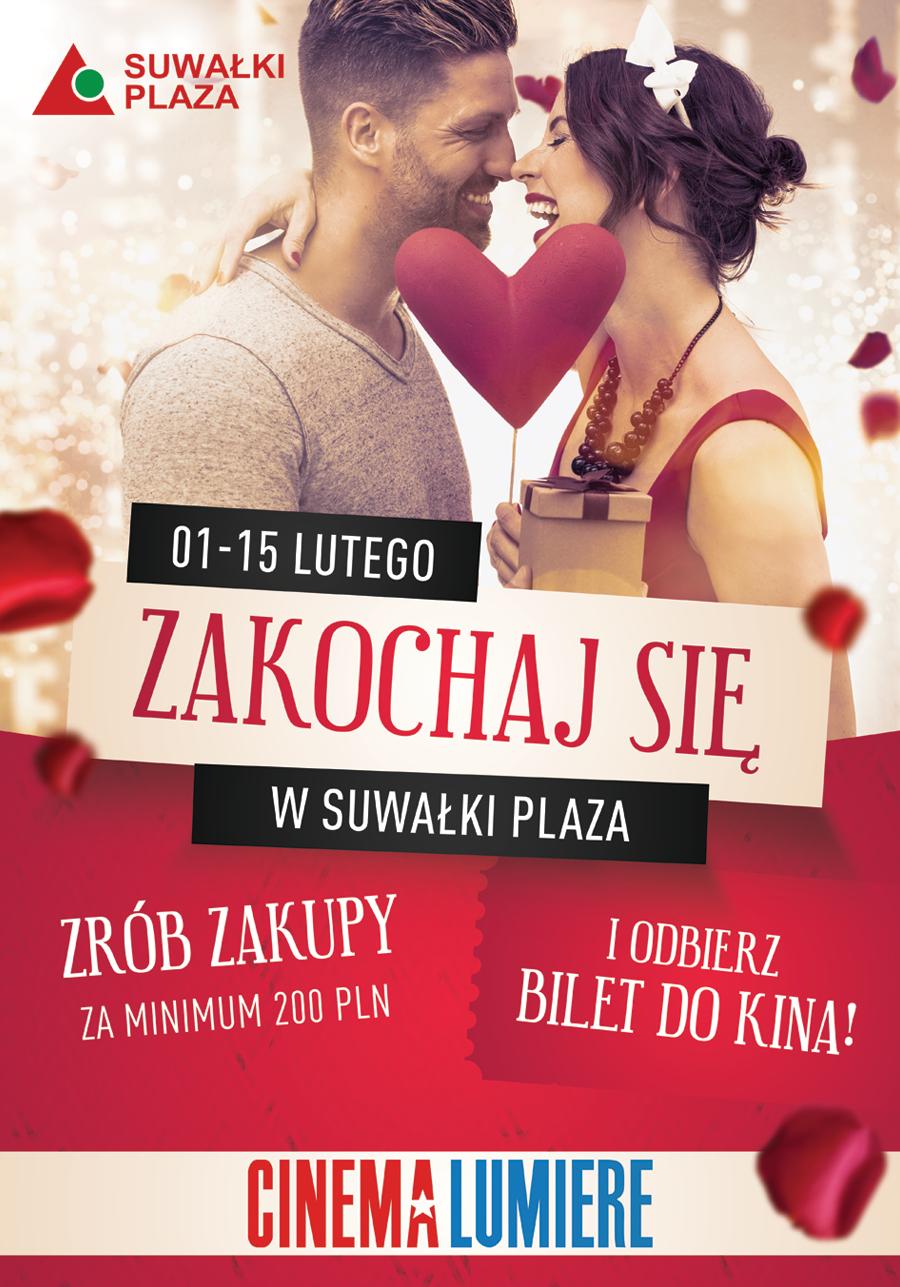 Zakochaj się w Suwałki Plaza!