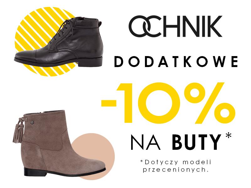 -10% na buty w Ochnik